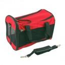 Cestovní taška Akinu Nylon L 43x25x27 cm - červená