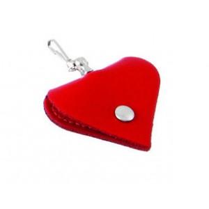 Adresář Karlie Heart Mini - červený