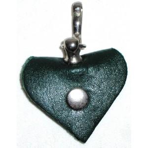 Adresář Karlie Heart Mini - zelený - DOPRODEJ