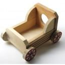 Dřevo vozík HY 6022