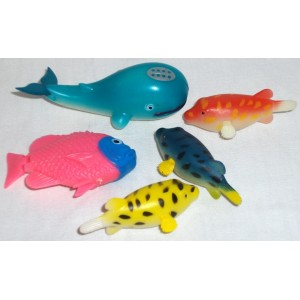 Plastová samoplovoucí rybka velká - DOPRODEJ