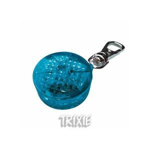Blikací přívěsek pro psy 3,5cm modrý, až 300m TRIXIE