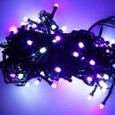 Vánoční LED osvětlení na stromeček (fialové)