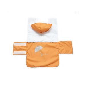 Vesta do deště,kapuce S oranžová