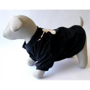 Tričko Fashion Dog černé XS 22 cm - DOPRODEJ