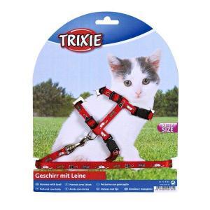 Nylonový postroj pro koťata - motiv 21-34cm/8mm TRIXIE