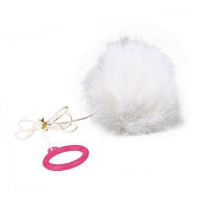 Kožešinová koule na gumičce s catnipem 7cm TRIXIE