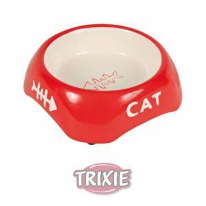 Keramická miska 200ml/13cm - CAT + rybí kostra