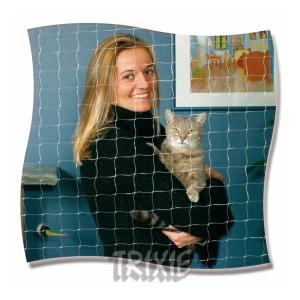 Ochranná síť pro kočky 4x3m - černá
