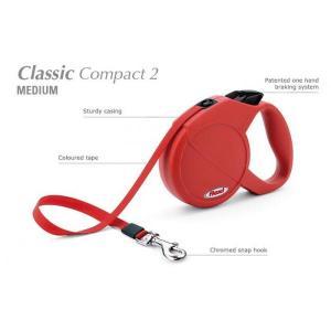 Flexi CLASSIC COMPACT 2 Medium  5 m pásek