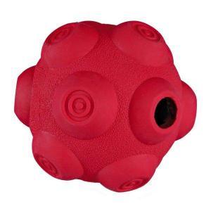 Dog Activity - hrbolatý míč na pamlsky, tvrdá guma 7 cm