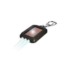 LED Solární klíčenka se třemi diodami