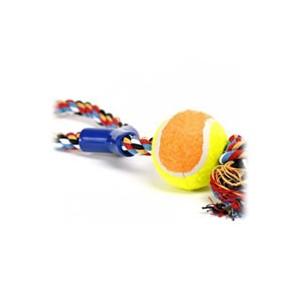 Přetahovadlo s tenisákem 38cm/6cm - DOPRODEJ