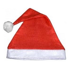 Vánoční čepice plyšová