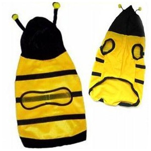 Obleček pro kočku - včela - velikost S