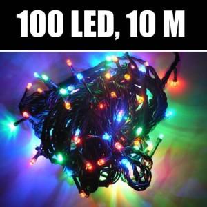 Vánoční LED osvětlení na stromeček (barevné)
