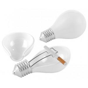 Popelník žárovka