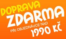Doprava zdarma od hodnoty nákupu 1990,- Kč